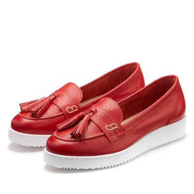 fdbe654d41787d Mokassins in rot online kaufen