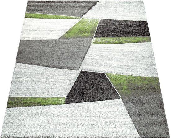 Teppich »Diamond 662«, Paco Home, rechteckig, Höhe 18 mm, 3D-Design, Kurzflor mit geometrischem Muster