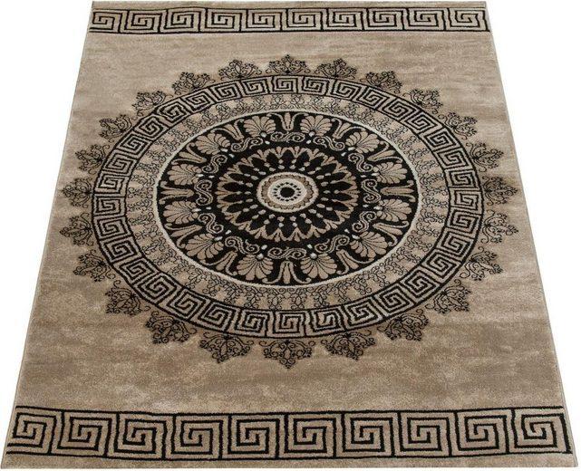 Teppich »Tibesti 081«, Paco Home, rechteckig, Höhe 16 mm, Kurzflor, Mandala Muster in dezenten Farbtönen