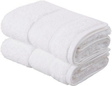 Living Dreams Premium Handtuch-Set (2tlg.) oder Badetuch