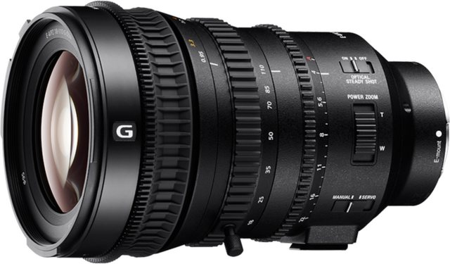 Objektive - Sony Objektiv »E Mount APS C Zoomobjektiv 18 110 mm F4.0 G«  - Onlineshop OTTO