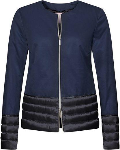 Brigitte von Schönfels Kurze Jacke mit Leichtdaune