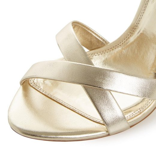 High sandalette Riemchen Dune »madalay« Feinen heel Mit London Ec0qI