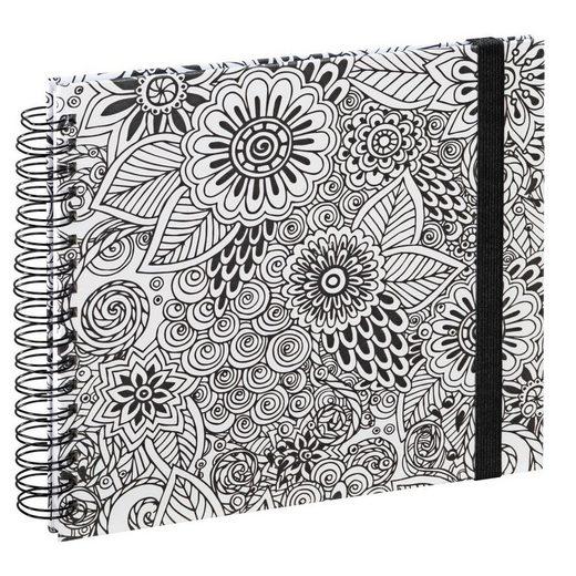 """Hama Spiral-Buch """"Colorare"""", 28x24 cm, 50 weiße Seiten"""