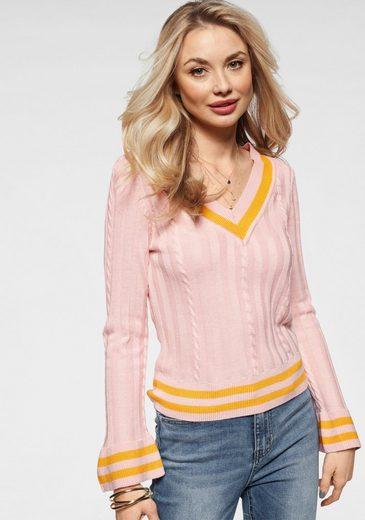 Only V-Ausschnitt-Pullover »FRYD«