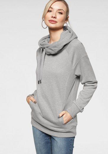 Only Sweatshirt »ONLLUNA« mit zartem Glitzer-Effekt