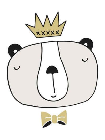 Lüttenhütt Leinwandbild »King«