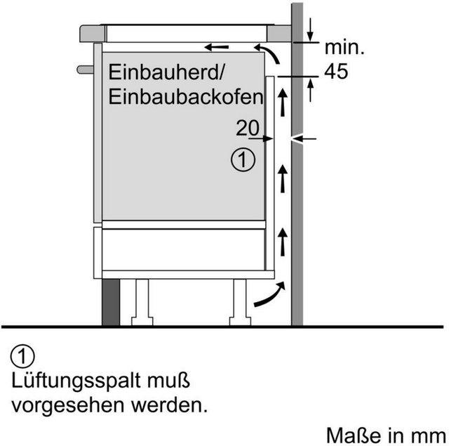 SIEMENS Flex-Induktions-Kochfeld von SCHOTT CERAN iQ700 EX875LVC1E