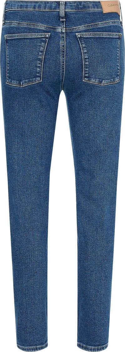 Calvin Klein Slim-fit-Jeans »HR SLIM ANKLE - AUTHENTIC BLUE«