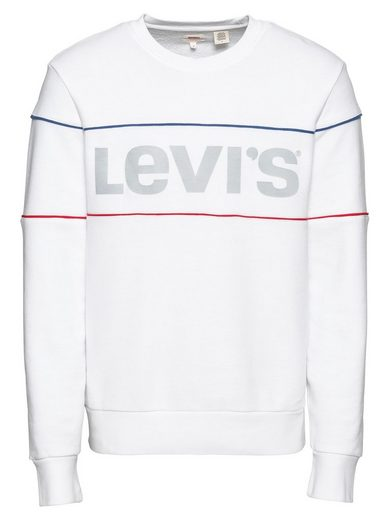 Levi's® »reflective Crew« Cb Cb Levi's® Sweatshirt Sweatshirt »reflective rqrwxnzUO6