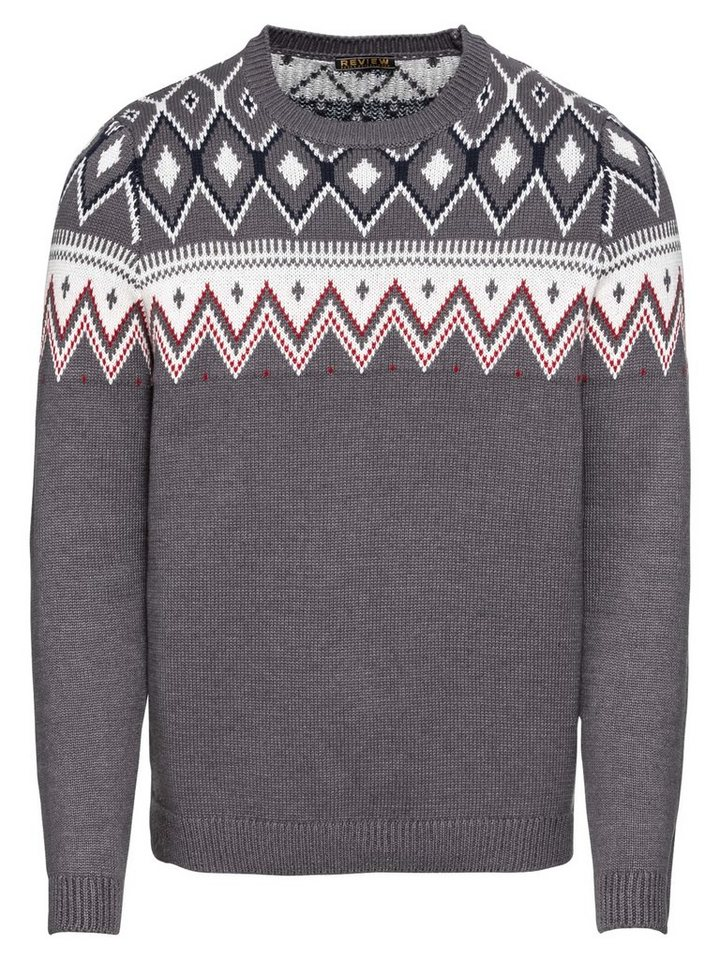 REVIEW Norwegerpullover »BP CN NORWEGIAN« | Bekleidung > Pullover > Norwegerpullover | Bunt | REVIEW