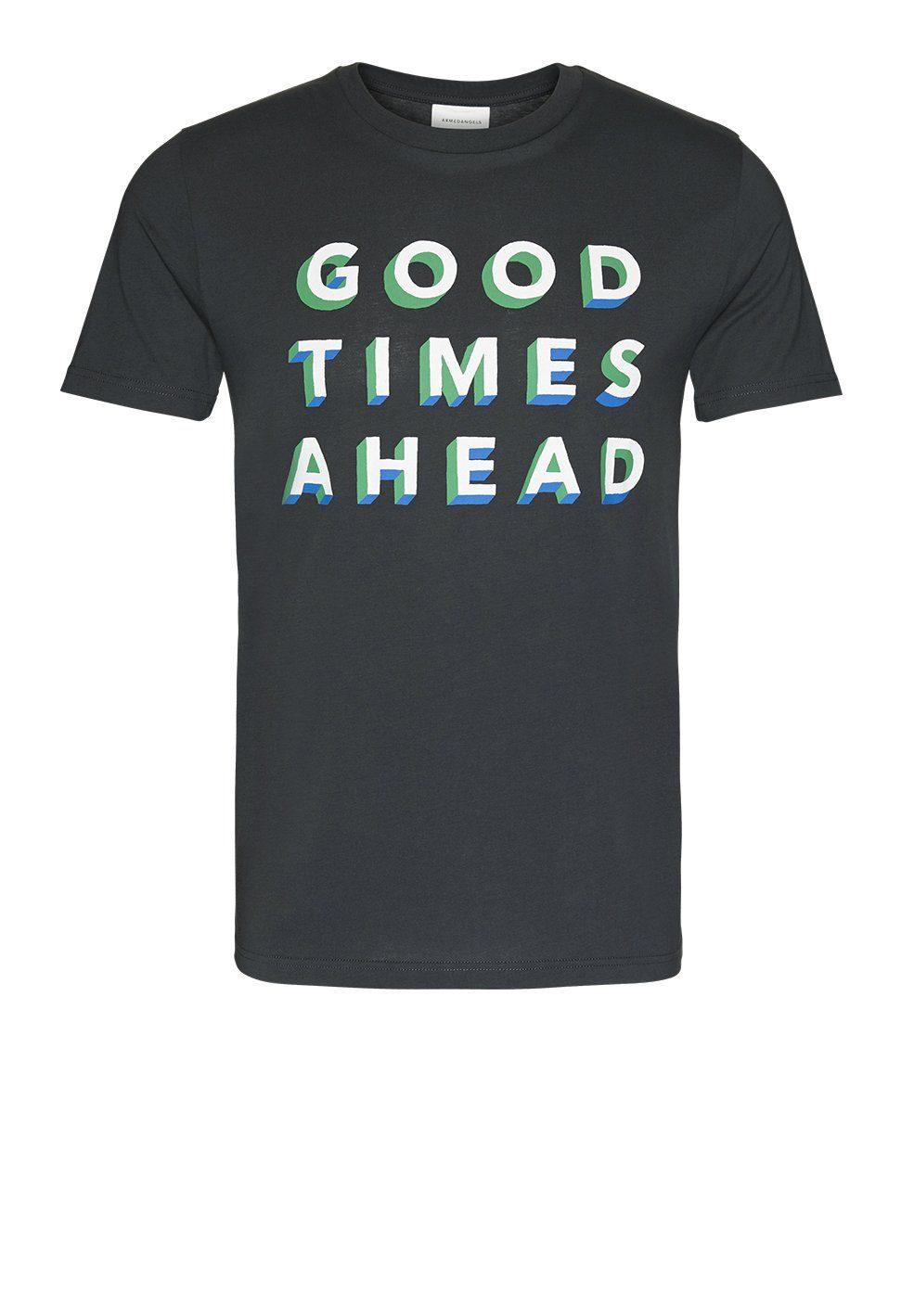 Armedangels T-Shirt »JAAMES GOOD TIMES« Fairtrade, GOTS, organic, CERES-08