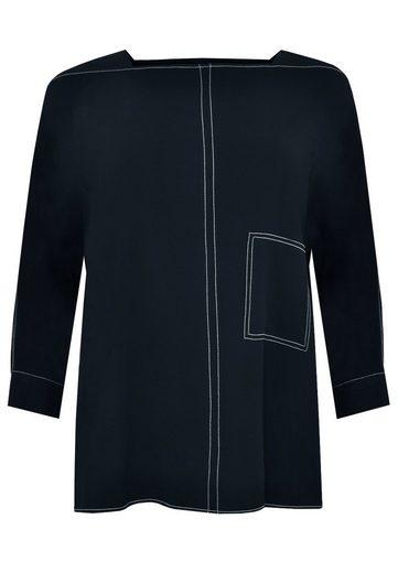 Blusenshirt Mit Yoek »cosi« Navy Streifen 8wOPk0Xn