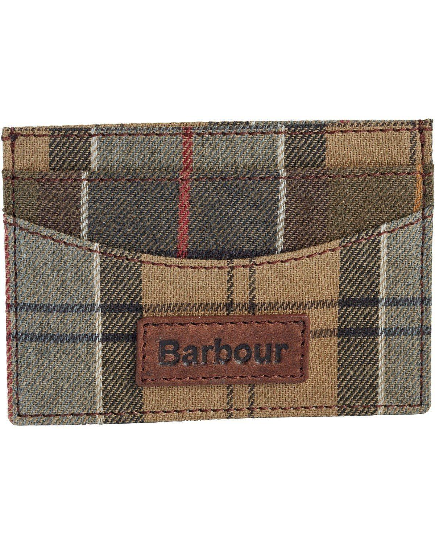 Barbour Kartenetui Tartan