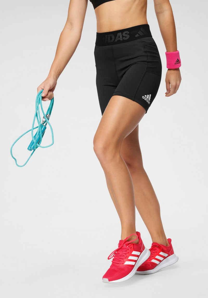 adidas Performance Shorts »TECHFIT SHORT BRANDED ELASTIC T«
