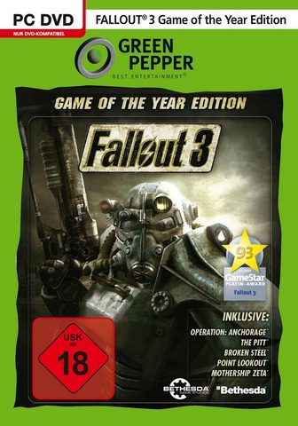 BETHESDA Fallout 3: Game of the Year Edition PC...