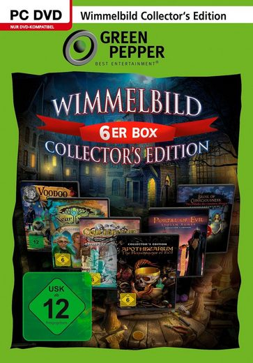 Wimmelbild 6er Box: Collectors Edition PC, Software Pyramide