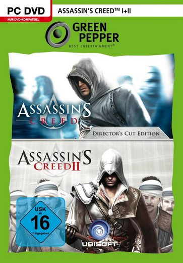 Assassin's Creed 1 + 2 PC, Software Pyramide