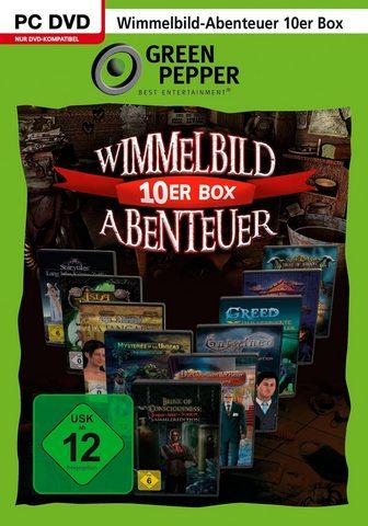 SMATRADE GMBH Wimmelbild-Abenteuer 10er Dėžutė PC