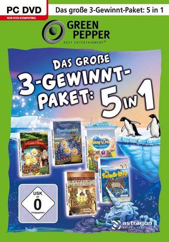 Das Große 3-Gewinnt-Paket: 5in1 PC