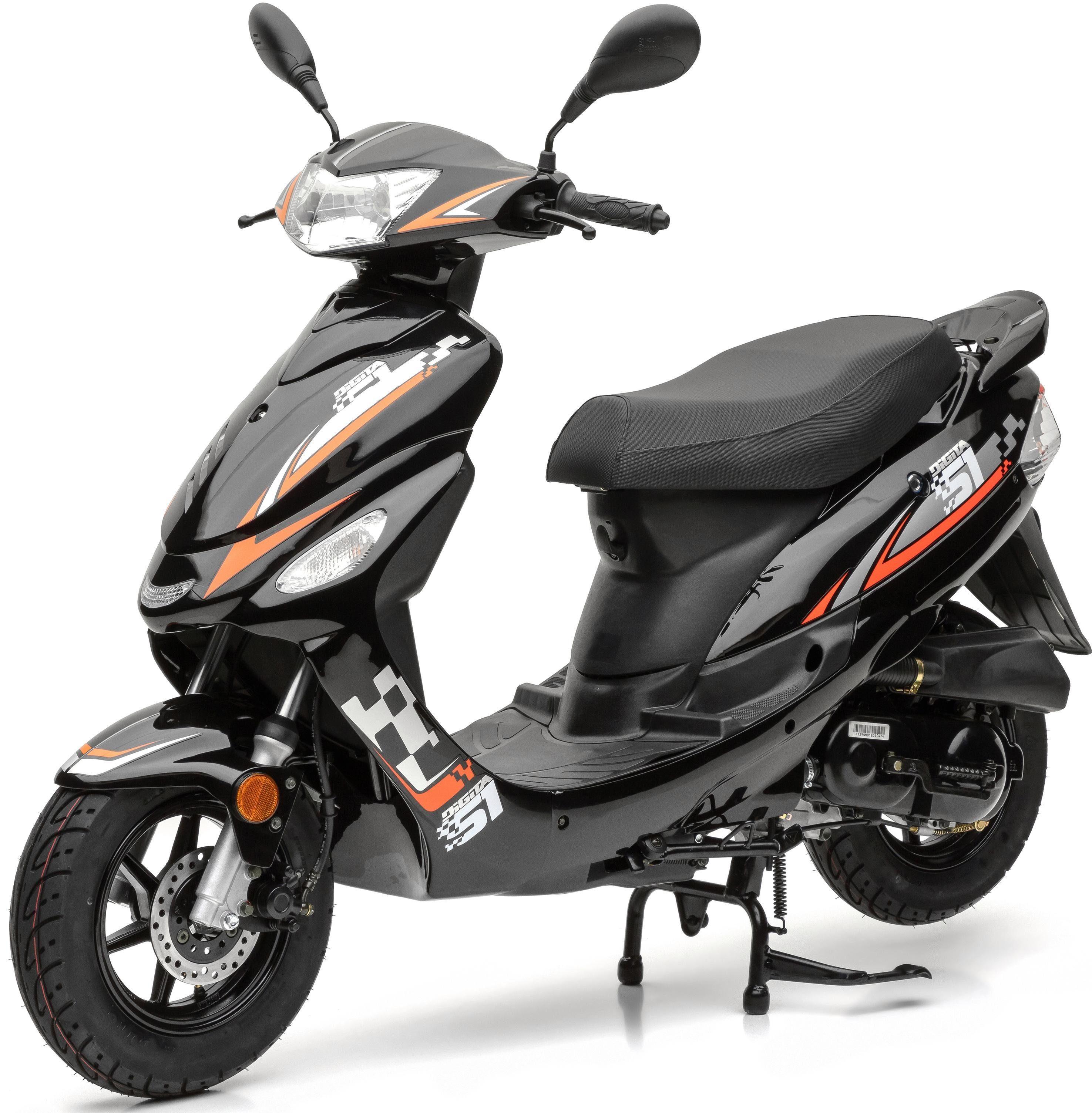 Nova Motors Motorroller »Energy«, 49 ccm, 45 km/h, Euro 4