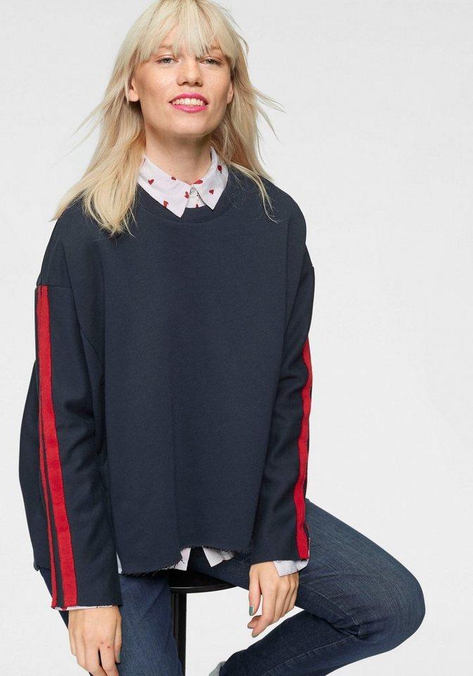 neue bilder von Sonderteil klassischer Stil LTB Sweatshirt »LIKECO« mit kontrastfarbenen Streifen am Ärmel online  kaufen | OTTO