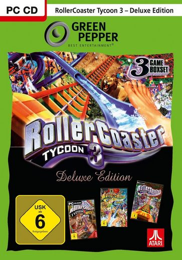 Rollercoaster Tycoon 3 Deluxe PC, Software Pyramide