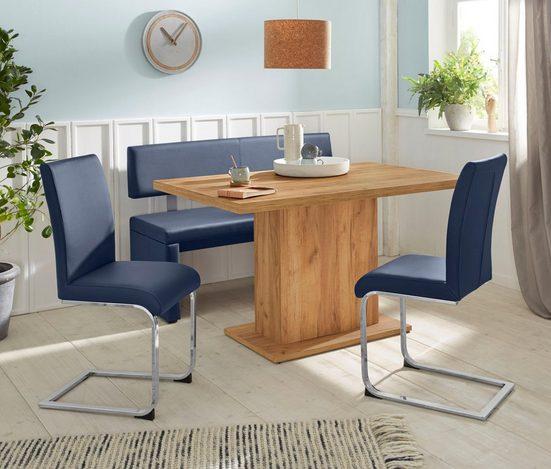 Sitzbank »Charissa«, mit Lehne, Breite 140, 160 oder 180 cm