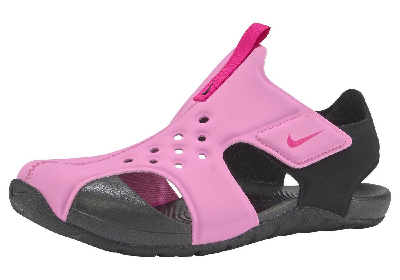 Damen Nike Sportswear »Sunray Protect 2 (ps)« Badesandale rosa | 00888408934260