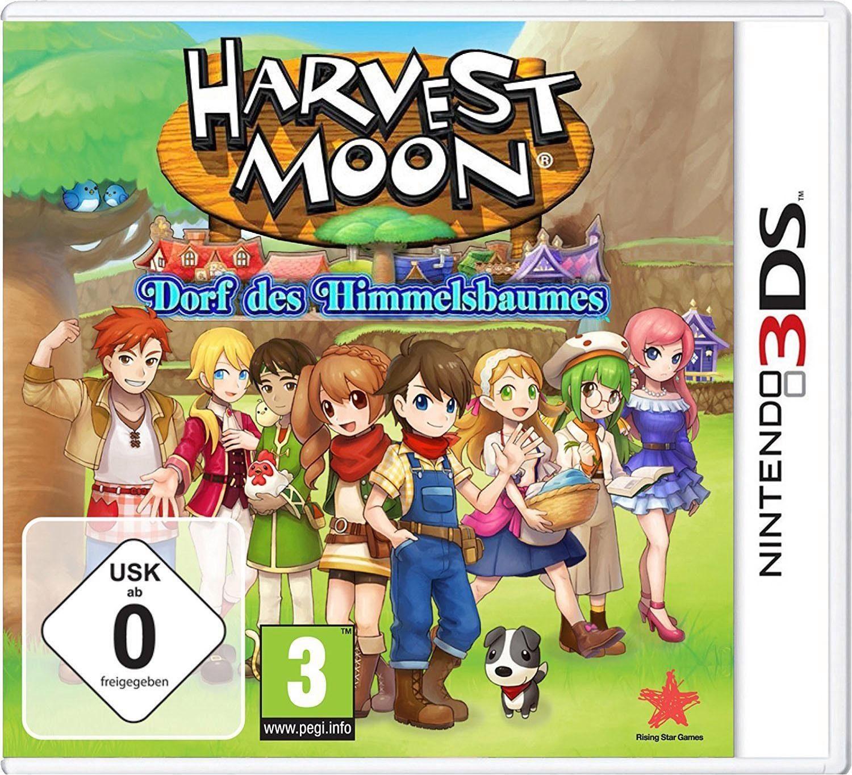 Harvest Moon: Dorf des Himmelbaumes Nintendo 3DS, Software Pyramide