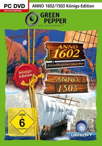 UBISOFT Anno 1503 Königsedition + Anno 1602 Kö...