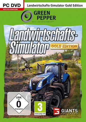 Landwirtschafts-Simulator 15 Gold Edit...