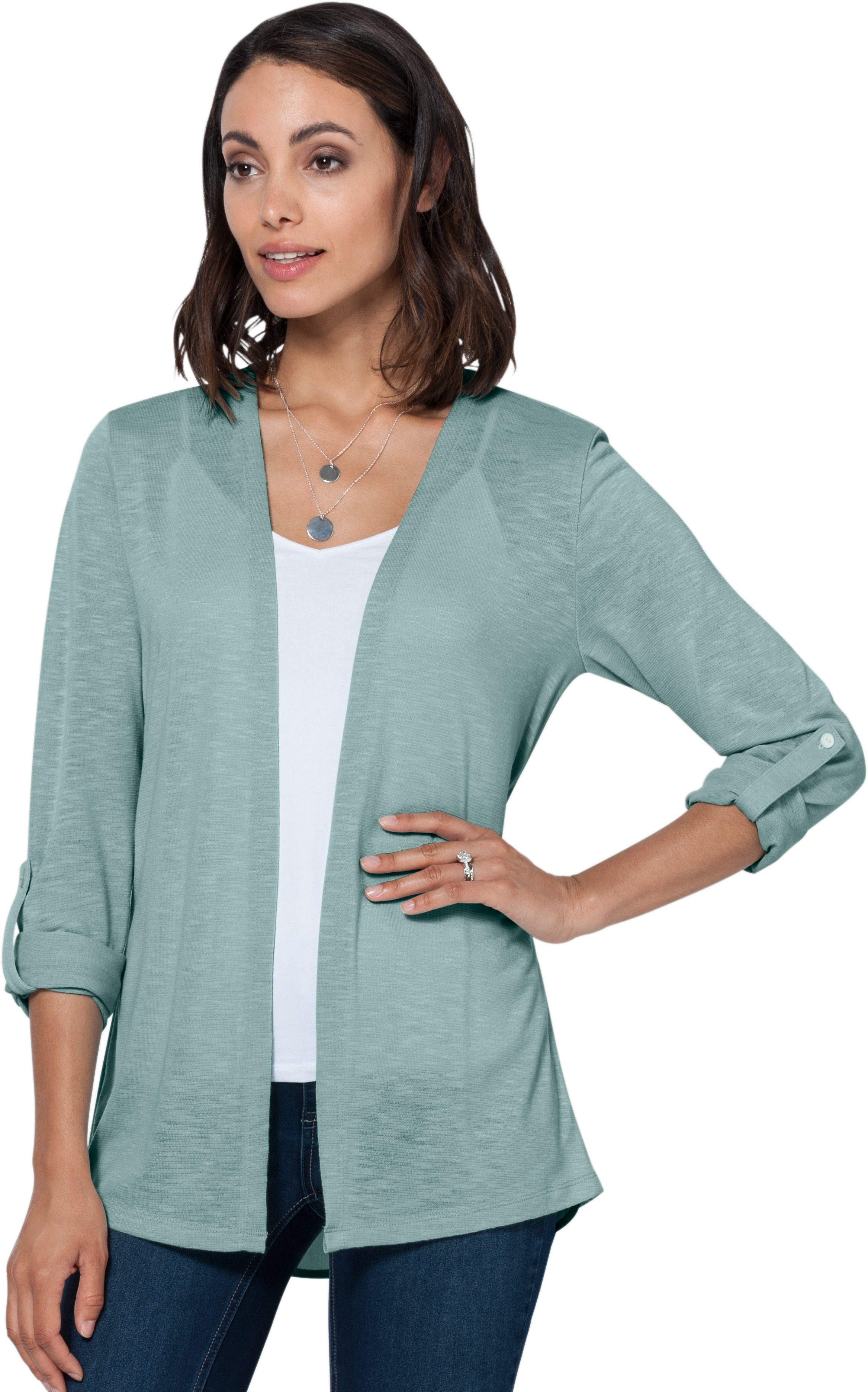 Ambria Shirtjacke in modisch offener Form