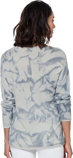 optik Origineller Ambria Spray Blau In Pullover bedruckt MzpVqSUG