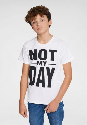 Arizona T-Shirt »Not my day« Druck