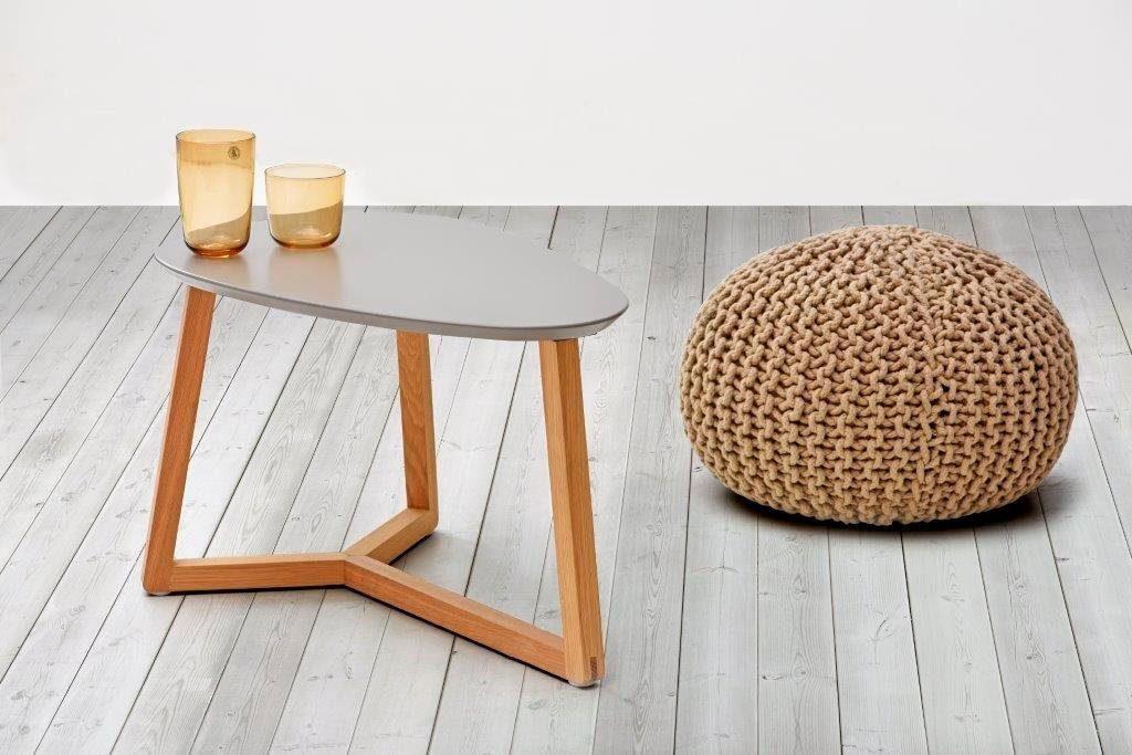 Home affaire Couchtisch »Marina« in schöner Holzoptik, mit pflegeleichter Oberfläche, Breite 60 cm
