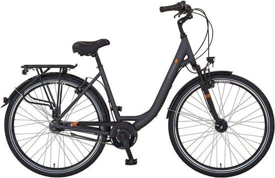 Prophete Cityrad »GENIESSER 9.5 City Bike Damen«, 7 Gang, Nabenschaltung