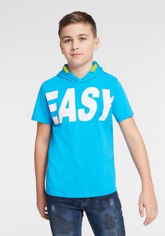 ARIZONA Marškinėliai su gobtuvu