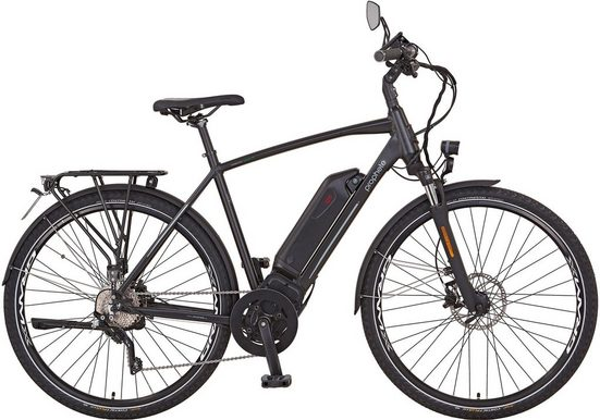 "Prophete S-Pedelec »PROPHETE ENTDECKER Speed45 Trekking E-Bike 28""«, 10 Gang, Mittelmotor 500 W"