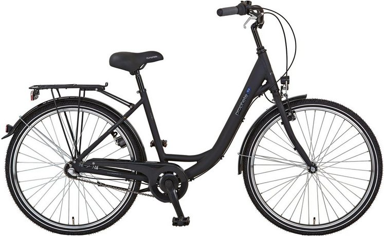 Prophete Cityrad »PROPHETE GENIESSER 9.3 City Bike«, 3 Gang, Nabenschaltung