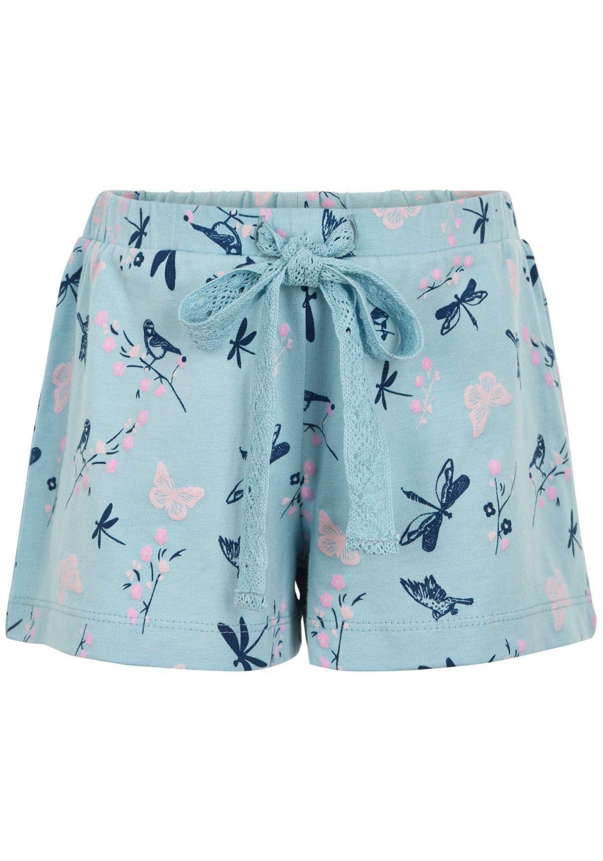Minymo Shorts mit Allover-Druck