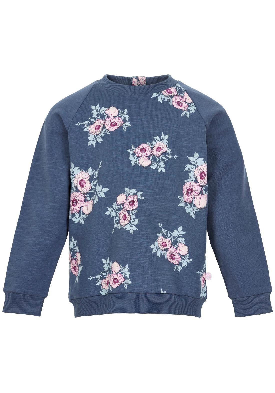 Minymo Sweatshirt mit Raglanärmeln