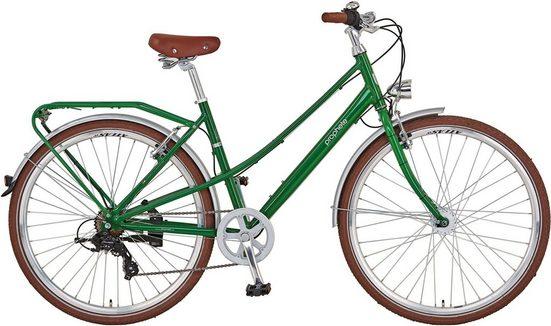 """Prophete Cityrad »PROPHETE GENIESSER Retro City Bike 28""""«, 8 Gang, Kettenschaltung"""