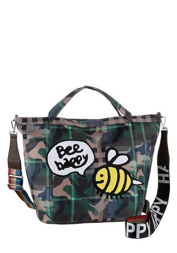 Frottee Bienen Druck Optik Mit In Stuff Maker Shopper »bee Patch« XZZpqP