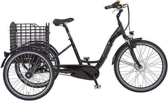 Prophete E-Bike »CARGO E-Bike 3R«, 3 Gang, Frontmotor 250 W