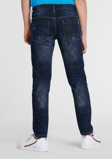 Arizona 5-Pocket-Jeans regular fit mit schmalem Bein