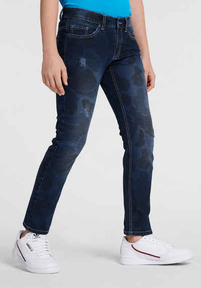 f77a7ddcbf Arizona 5-Pocket-Jeans regular fit mit schmalem Bein