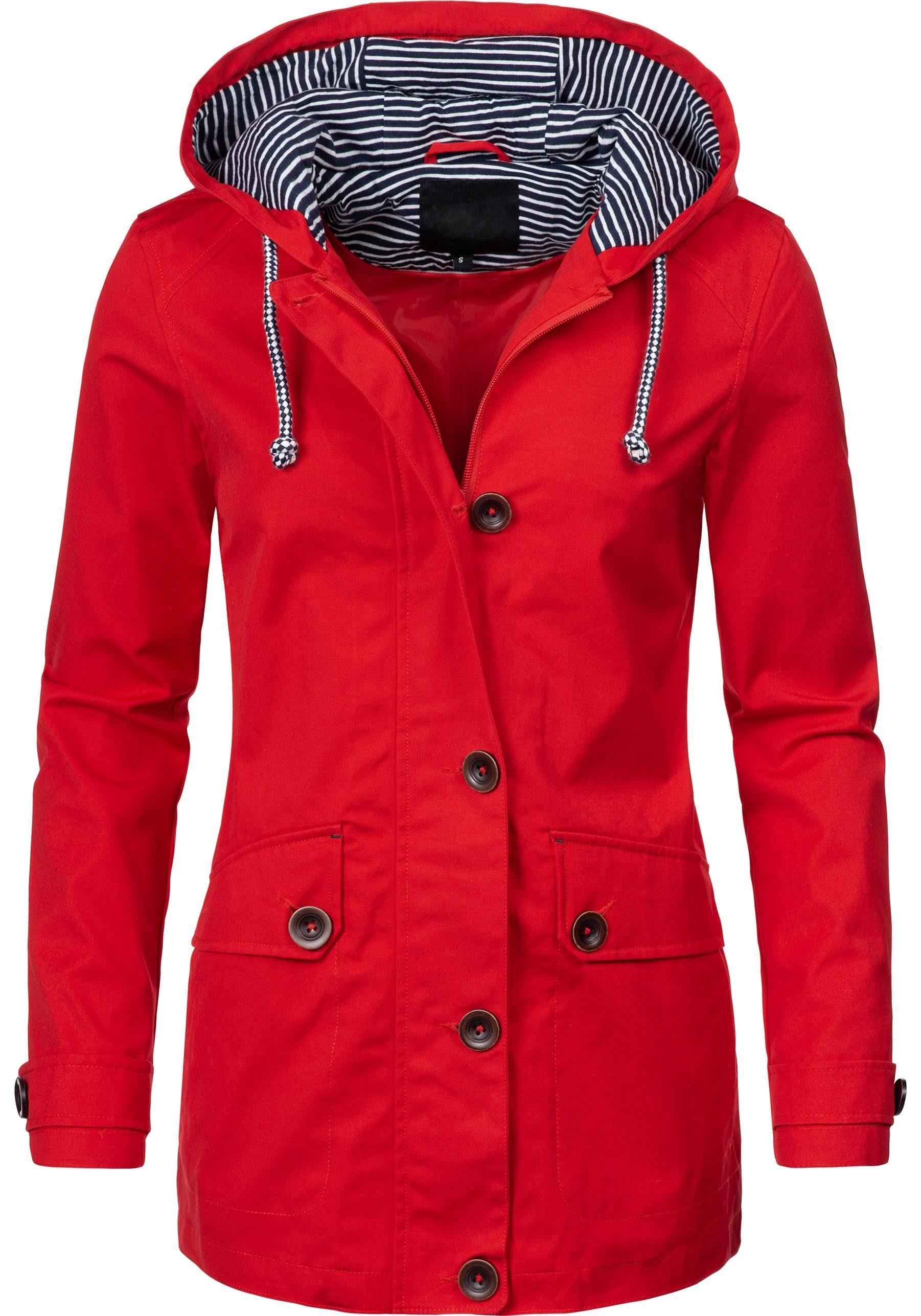 PEAK TIME Parka »L60012« modische Damen Baumwolljacke Übergangsjacke online kaufen | OTTO