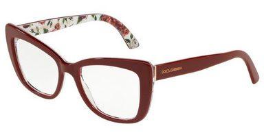 DOLCE & GABBANA Damen Brille »DG3308«
