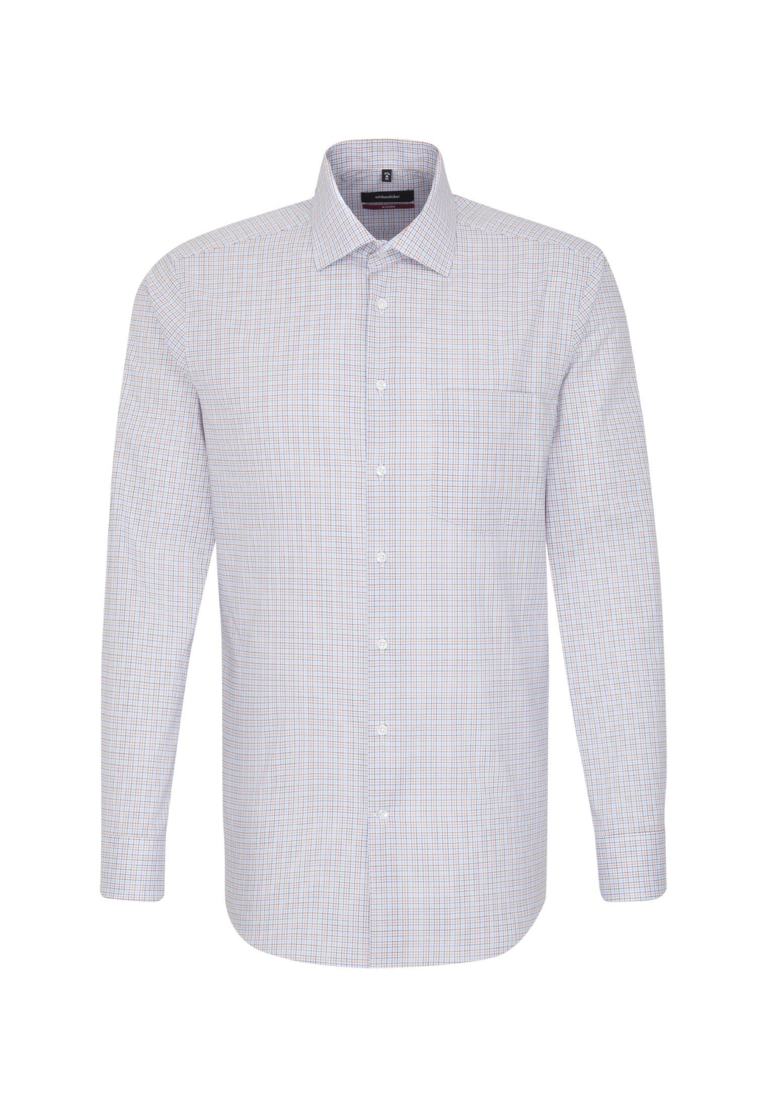 Kaufen Seidensticker »modern« Langarm Karo Modern Online Businesshemd Kentkragen PXOukZTi